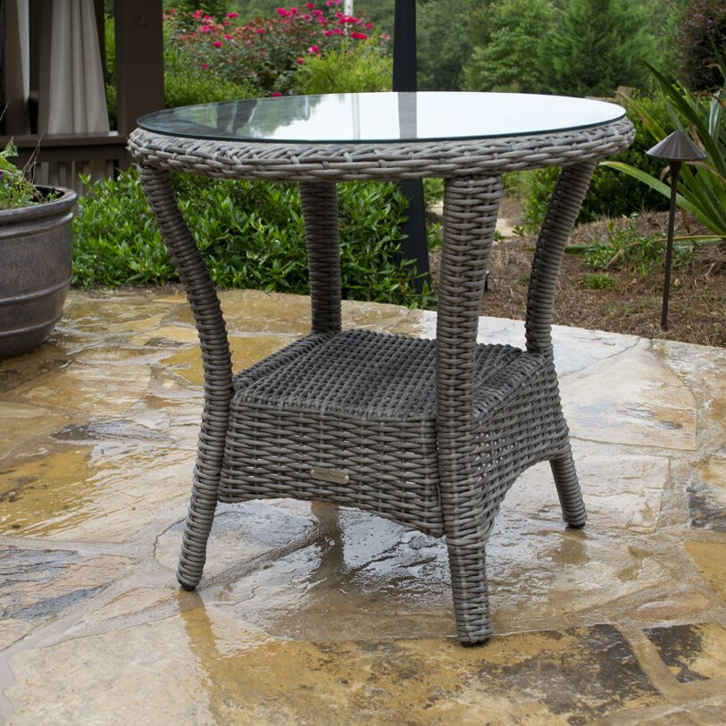 Bayview Side Table Finish: Driftwood