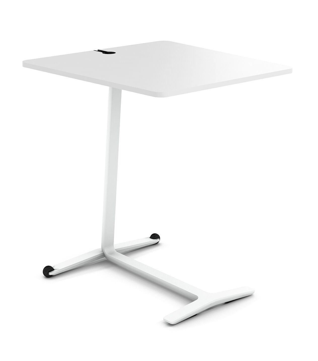 Campfire Skate End Table Color: Arctic White, Laminate Color: Arctic White