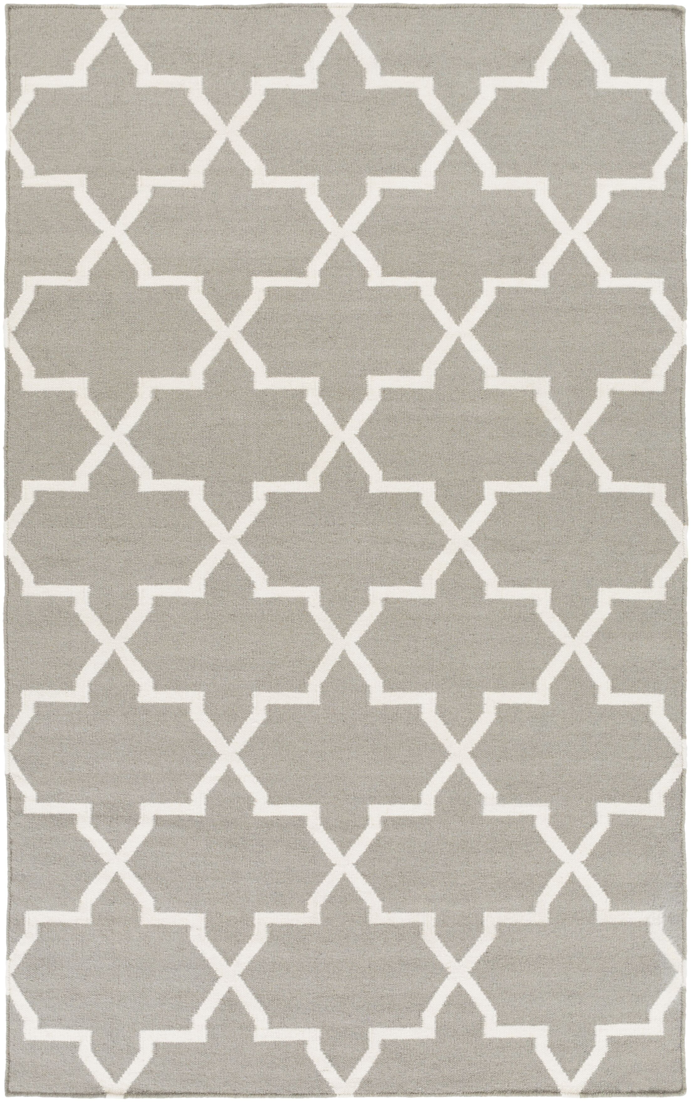 Bangor Charcoal Geometric Area Rug Rug Size: Rectangle 10' x 14'