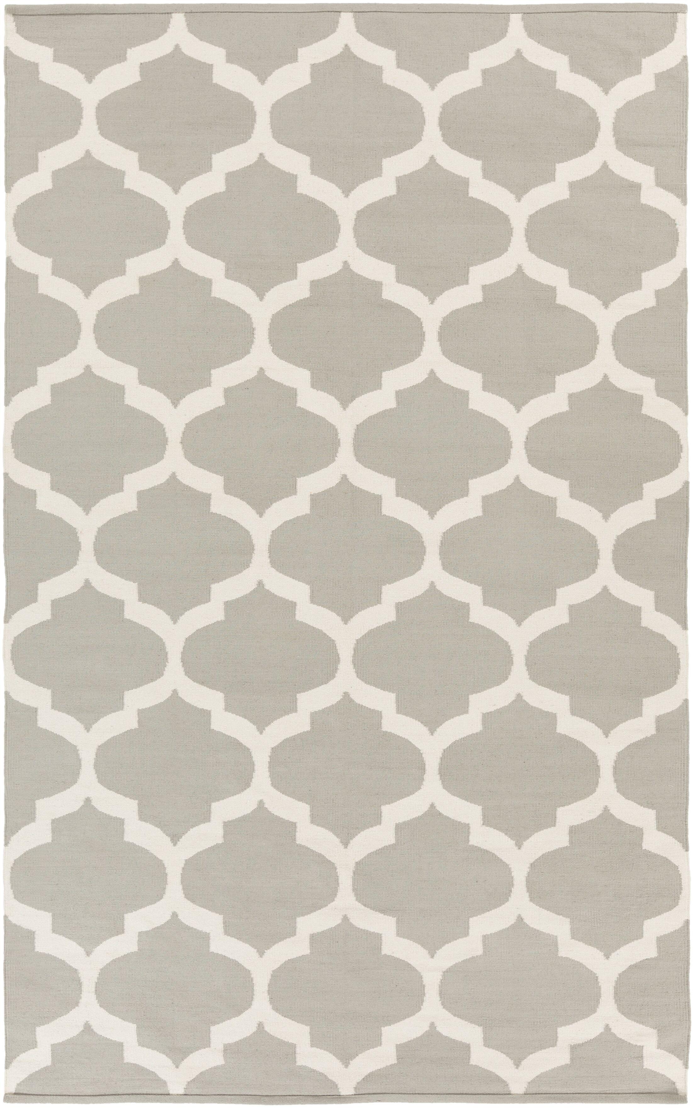 Bohannon Gray Geometric Area Rug Rug Size: Rectangle 8' x 10'