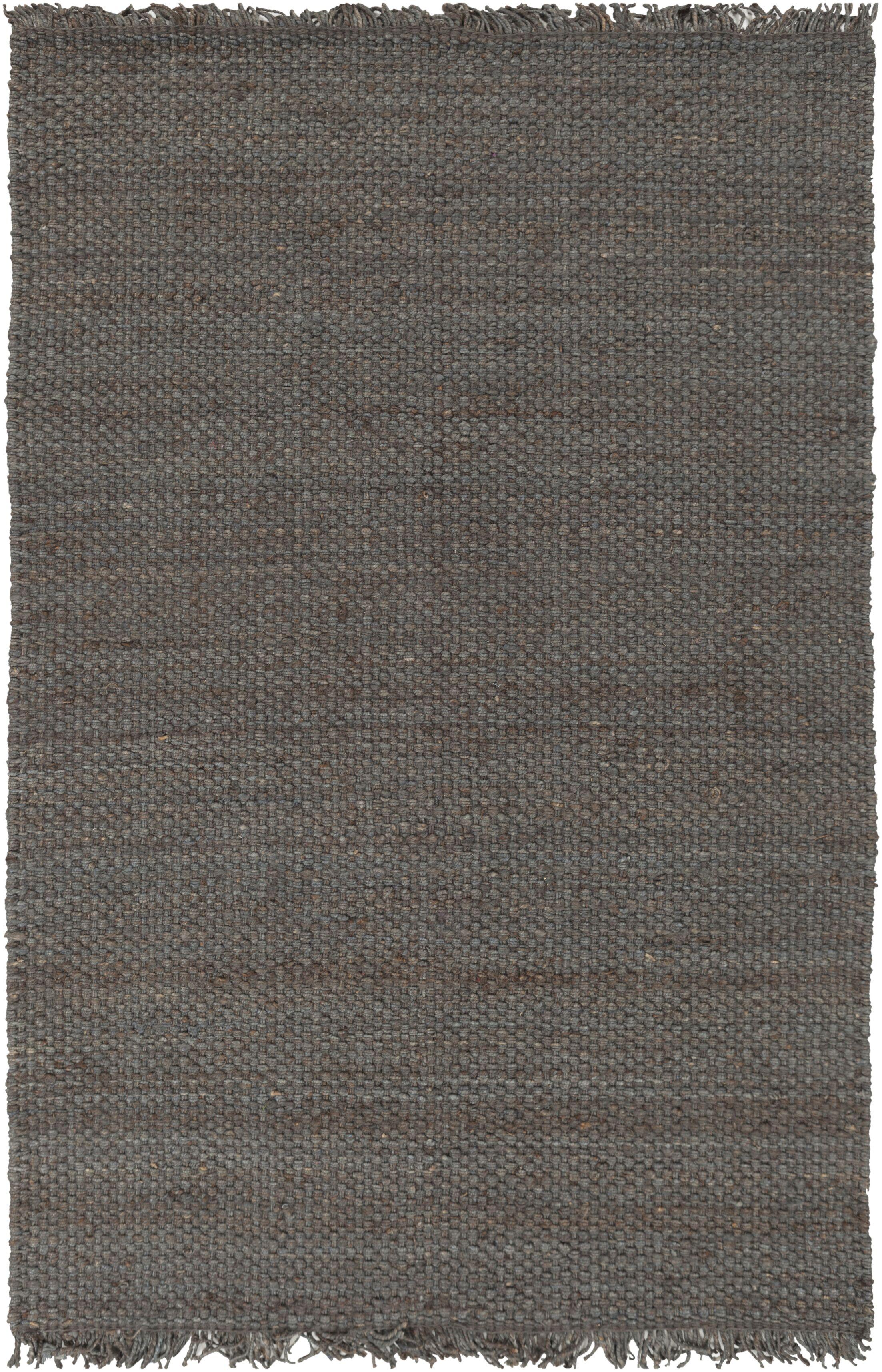 Pineda Hand Woven Gray Area Rug Rug Size: Rectangle 5' x 7'6
