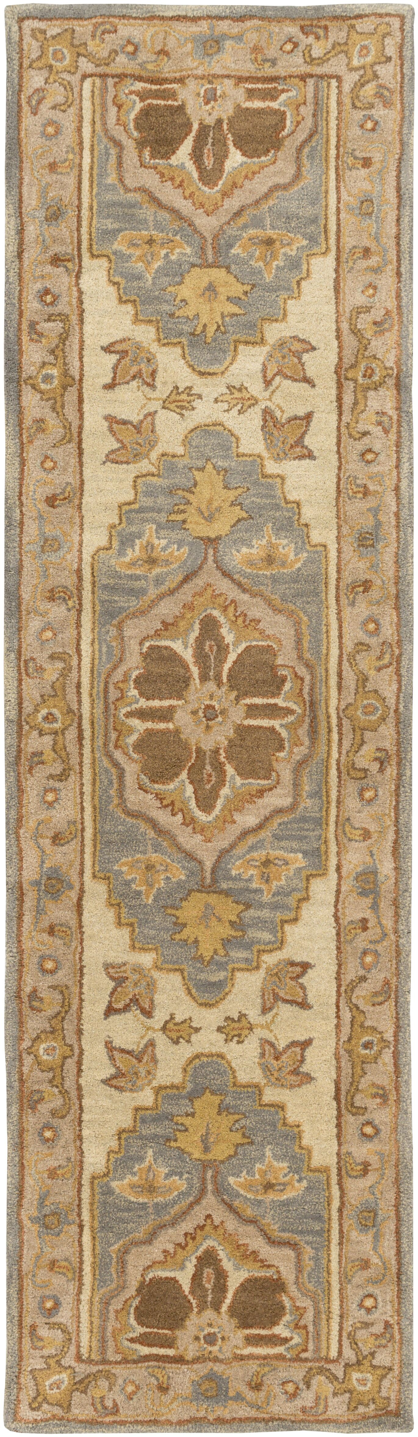 Dussault Brown Area Rug Rug Size: Runner 2'3