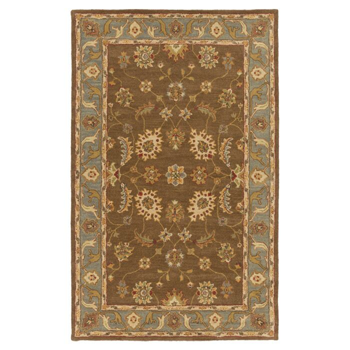 Plemmons Brown Area Rug Rug Size: Rectangle 8' x 11'