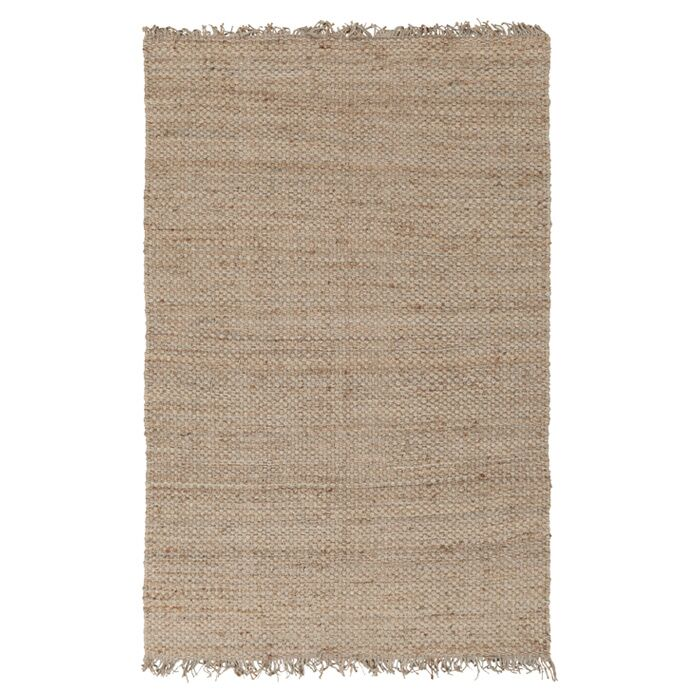 Pineda Hand Woven Beige Area Rug Rug Size: Rectangle 8' x 10'