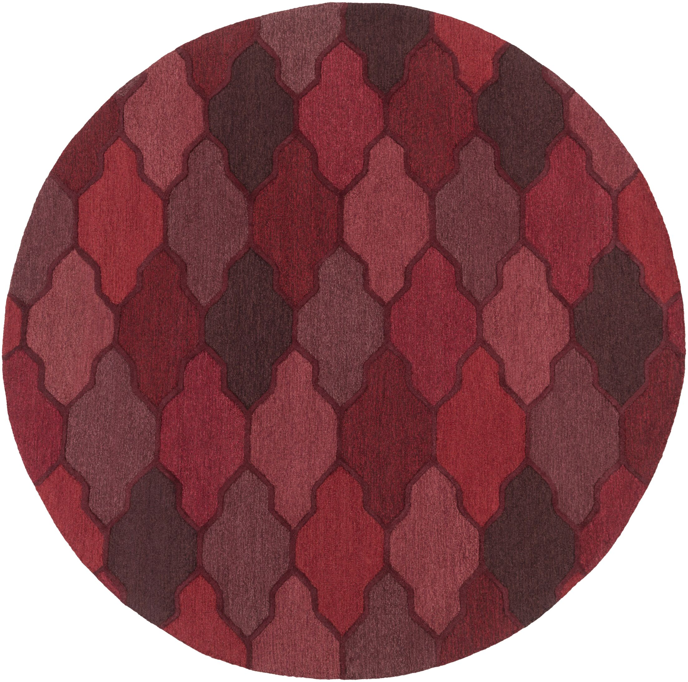 Galya Red Area Rug Rug Size: Runner 2'3