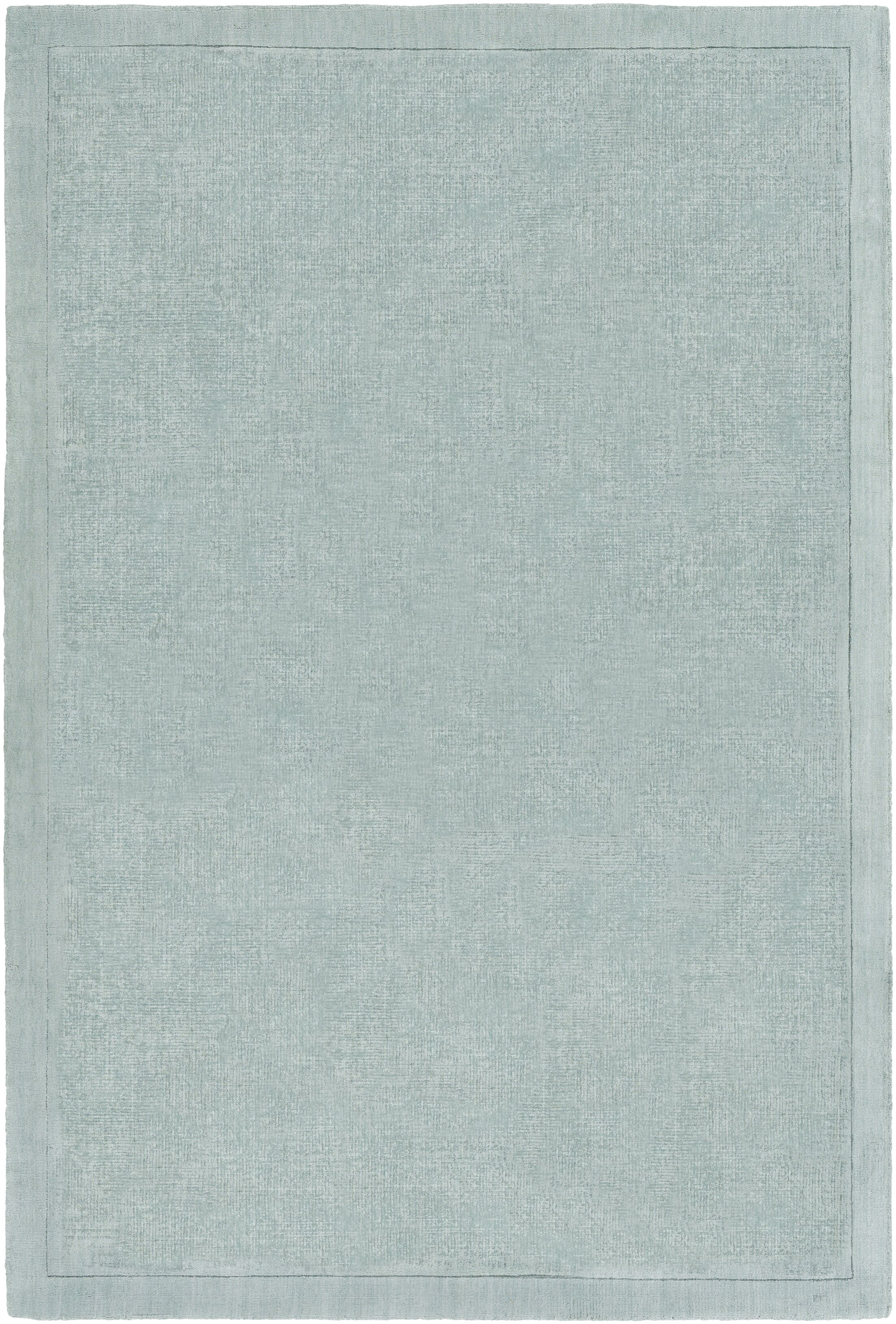 Natalie Hand-Loomed Seafoam Area Rug Rug Size: Rectangle 9' x 12'
