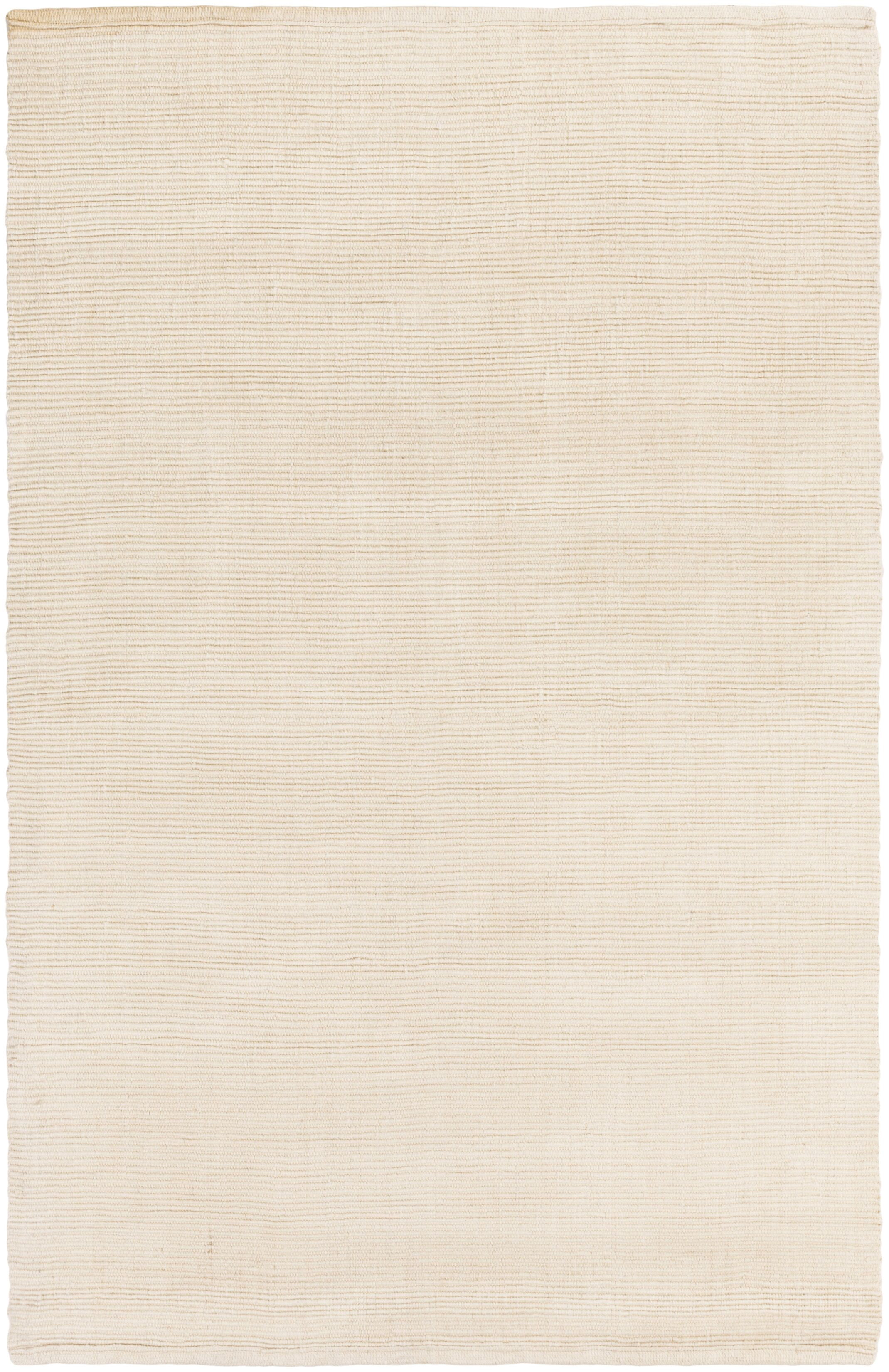 Yother Hand-Woven Ivory Area Rug Rug Size: Runner 2'3