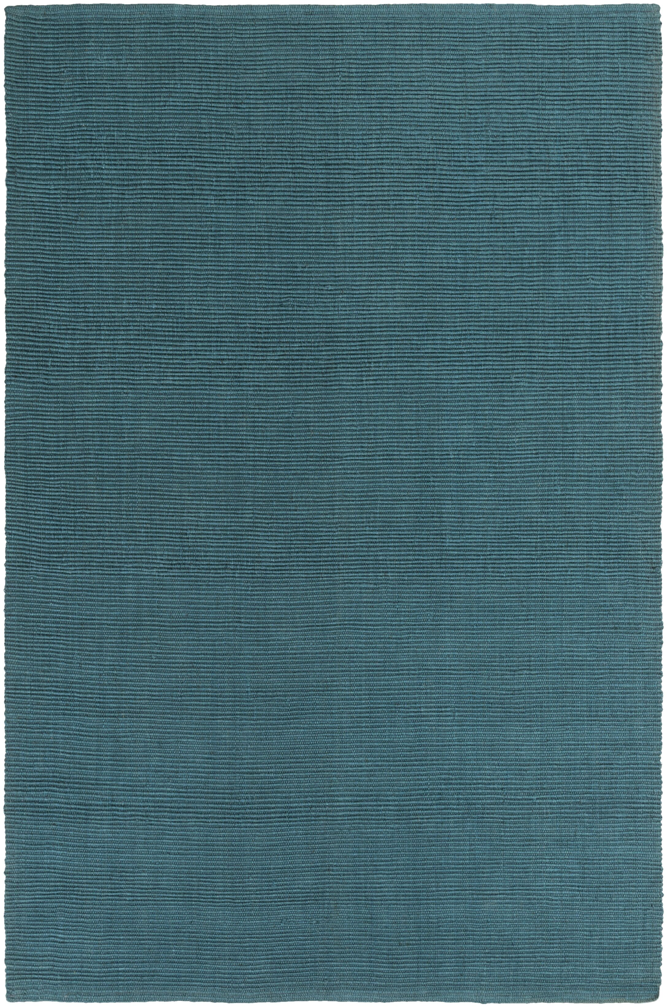 Yother Hand-Woven Teal Area Rug Rug Size: Rectangle 5' x 7'6