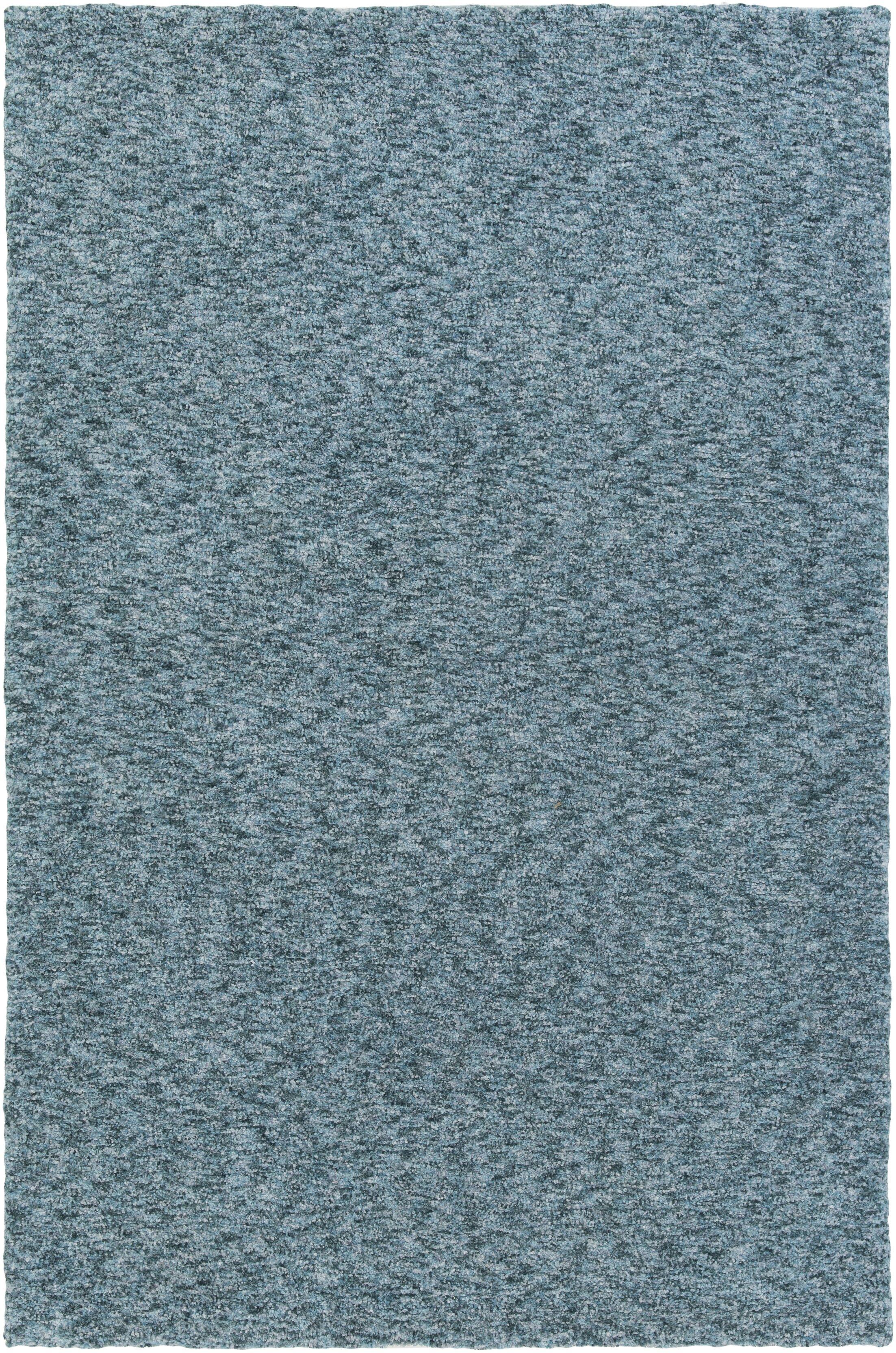 Daub Navy/Light Blue Area Rug Rug Size: Rectangle 5' x 7'6