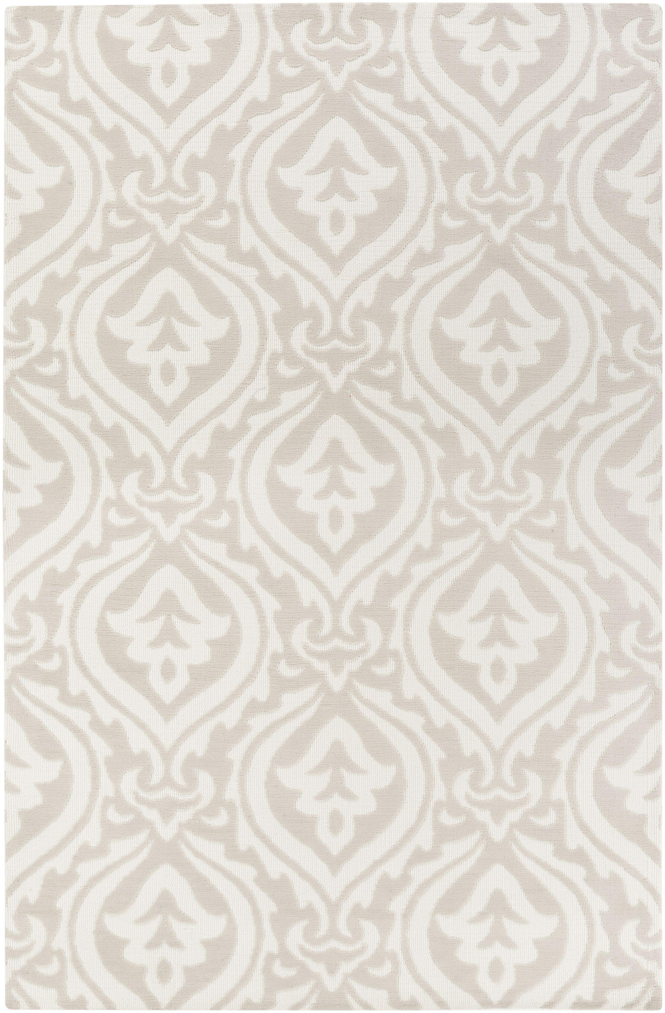 Lachapelle Ivory/Beige Area Rug Rug Size: Rectangle 7'6