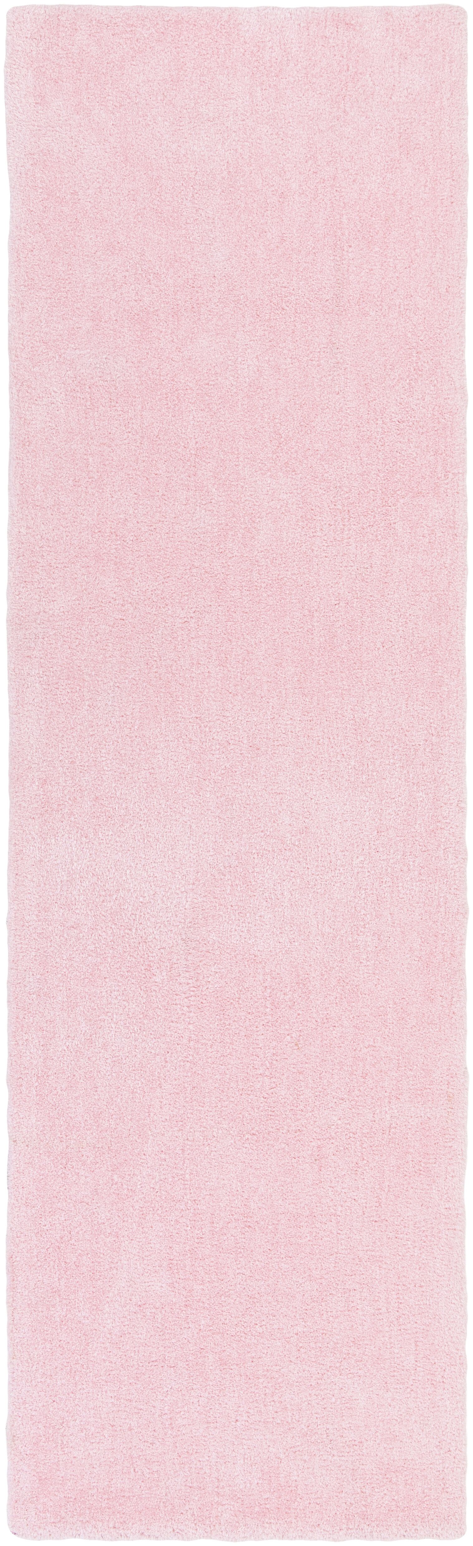 Eckman Light Pink Area Rug Rug Size: Runner 2'3