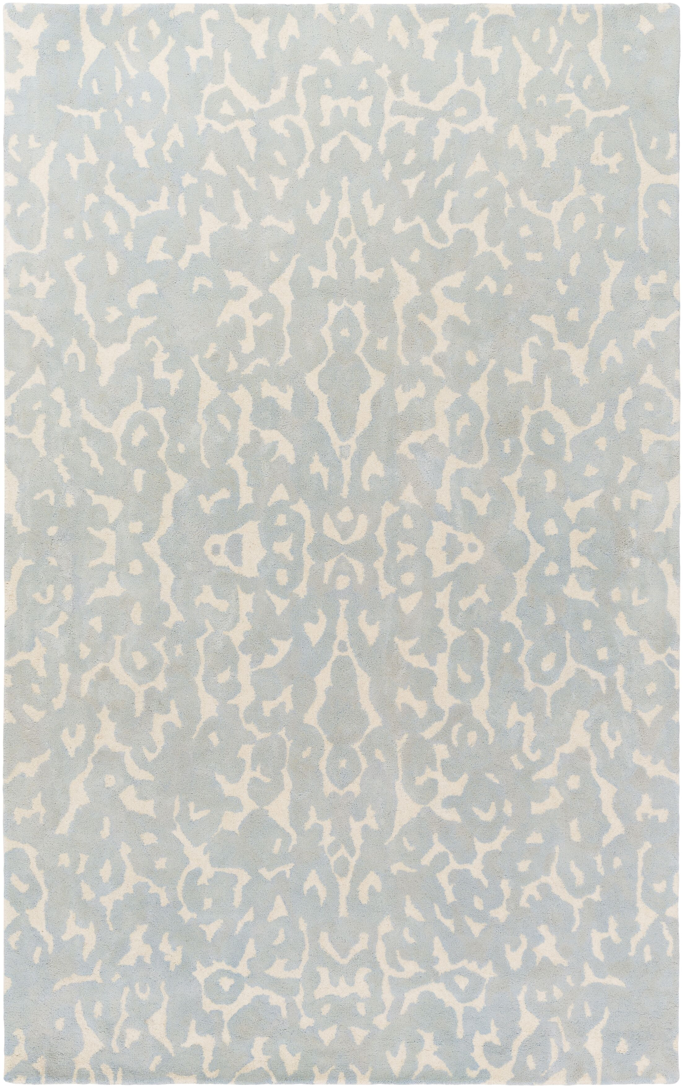 Ginter Hand-Tufted Light Gray Area Rug Rug Size: Rectangle 8' x 10'