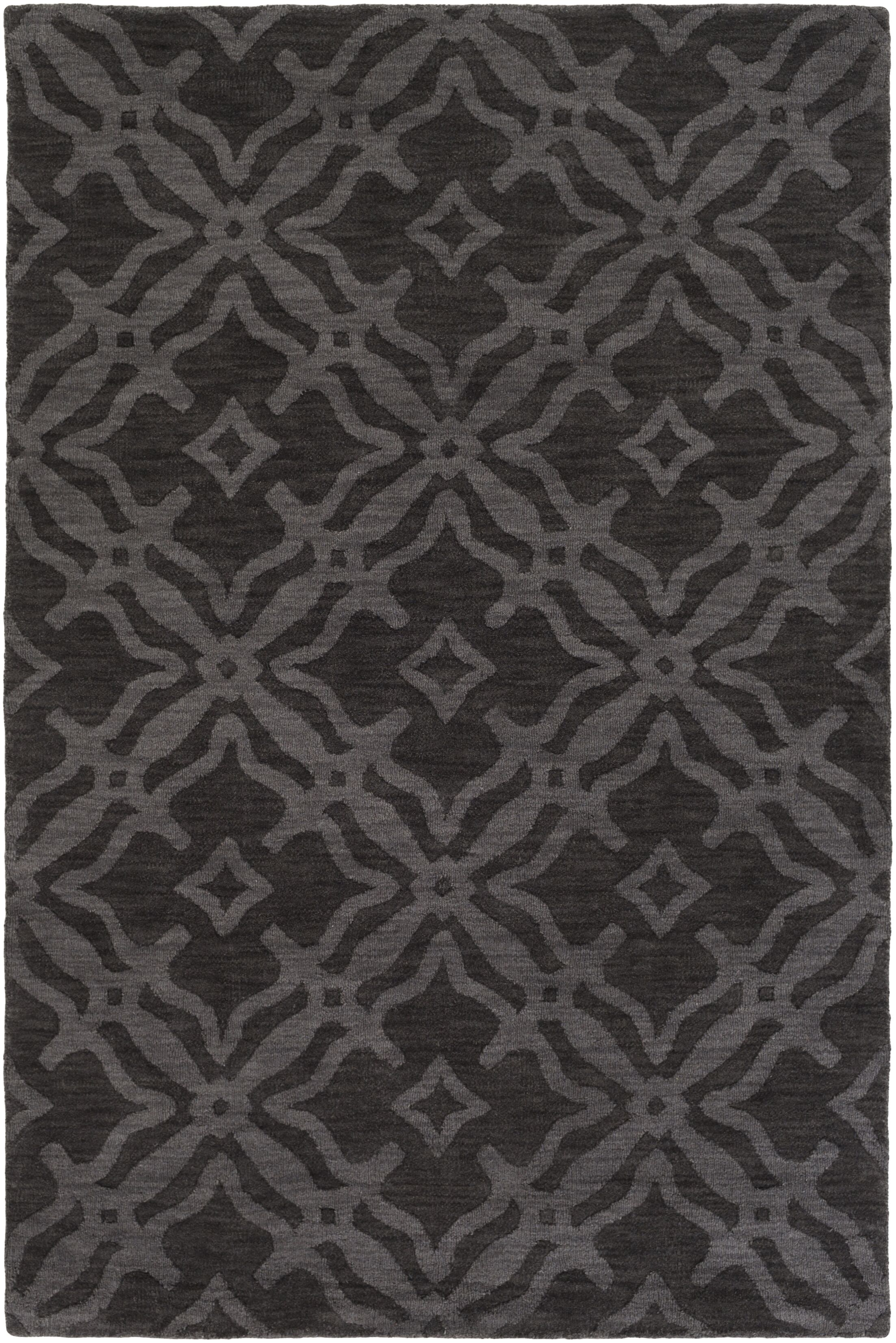Dutchess Handmade Slate Area Rug Rug Size: Rectangle 10' x 14'
