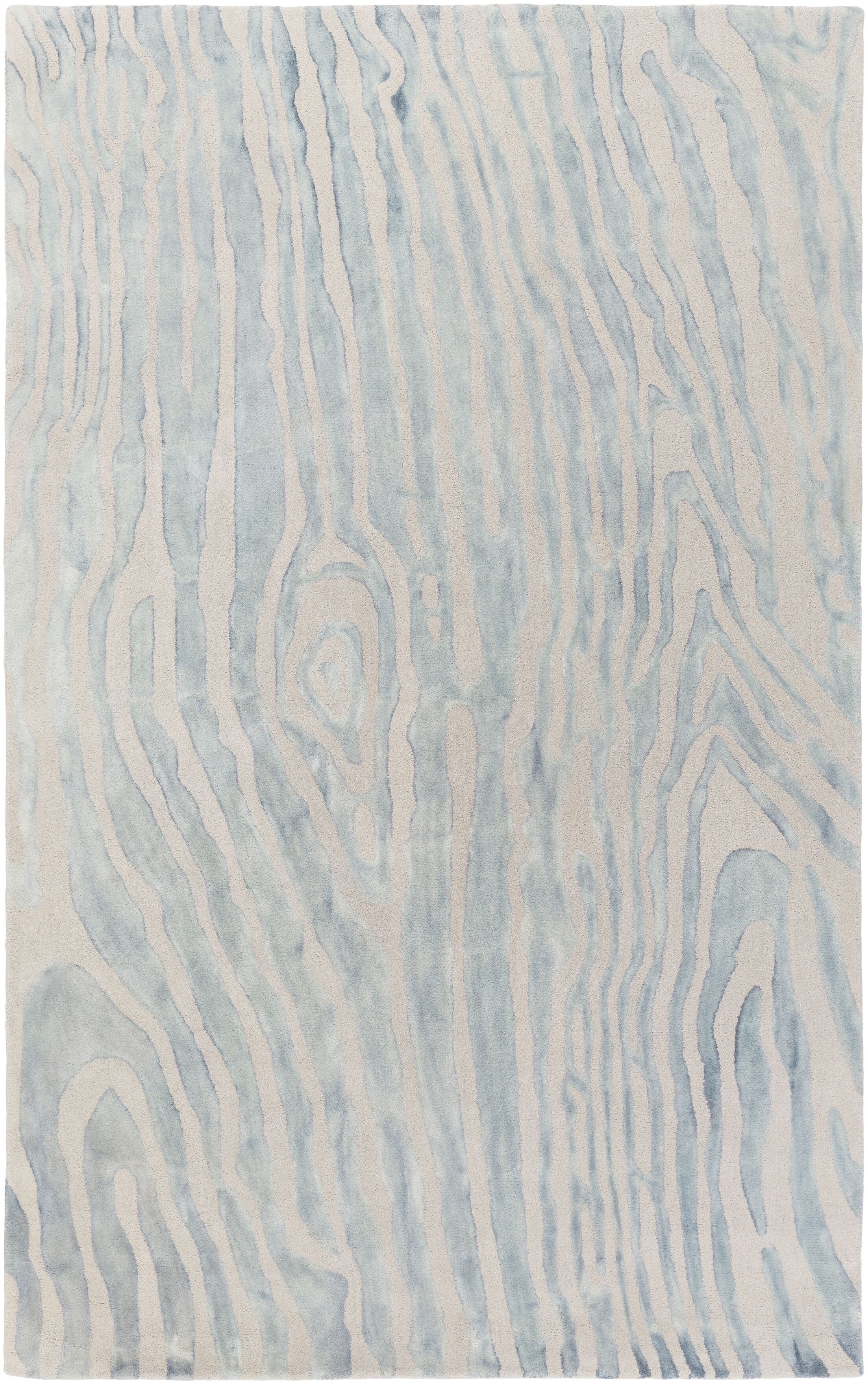 Little Sodbury Hand-Tufted Blue Area Rug Rug Size: Rectangle 9' x 13'