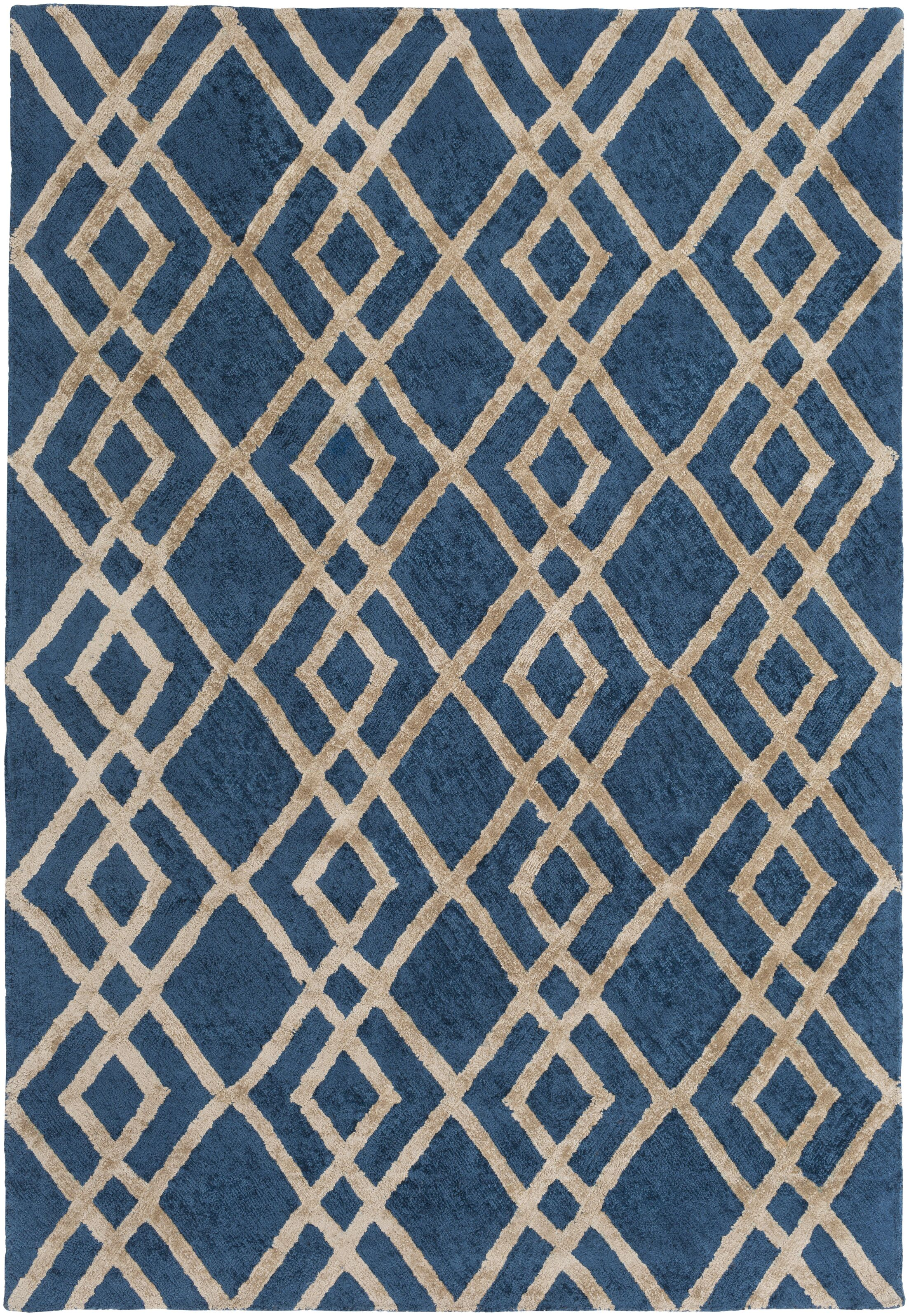 Bradt Hand-Tufted Area Rug Rug Size: Rectangle 5' x 7'6