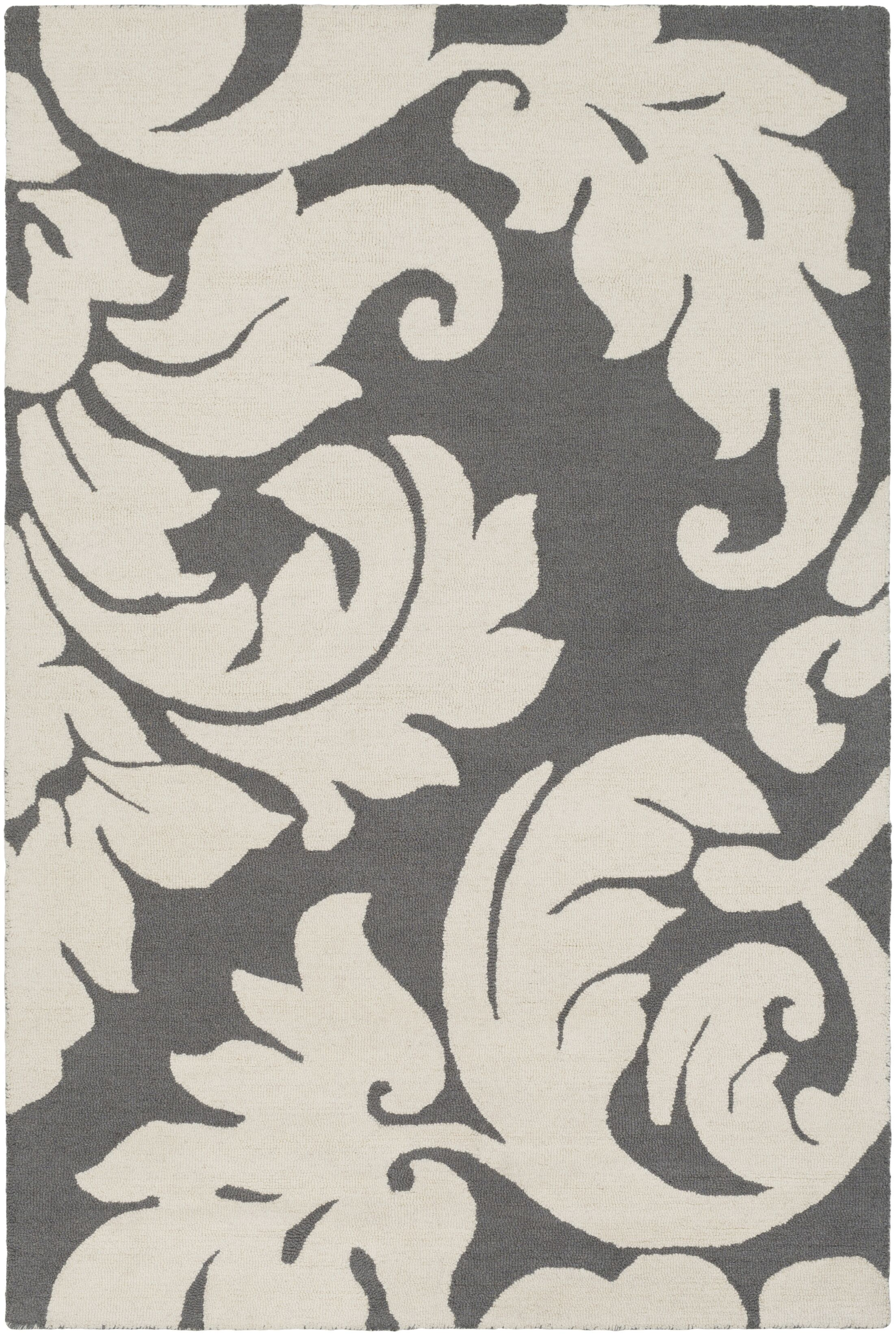 Lachance Hand-Tufted Blue Area Rug Rug Size: Rectangle 9' x 13'