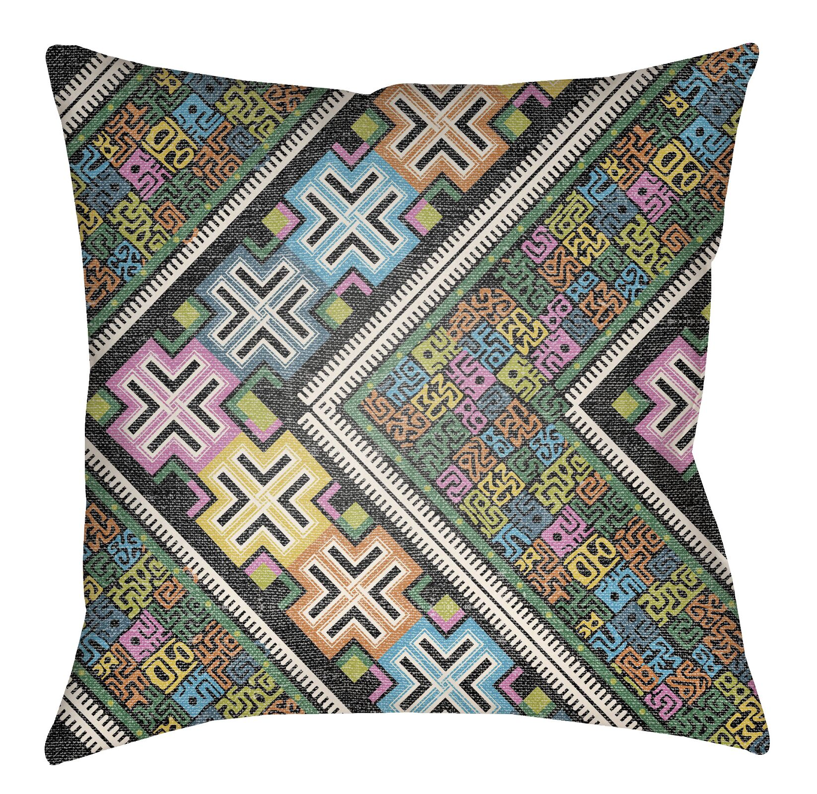 Kalish Indoor/Outdoor Throw Pillow Size: 18