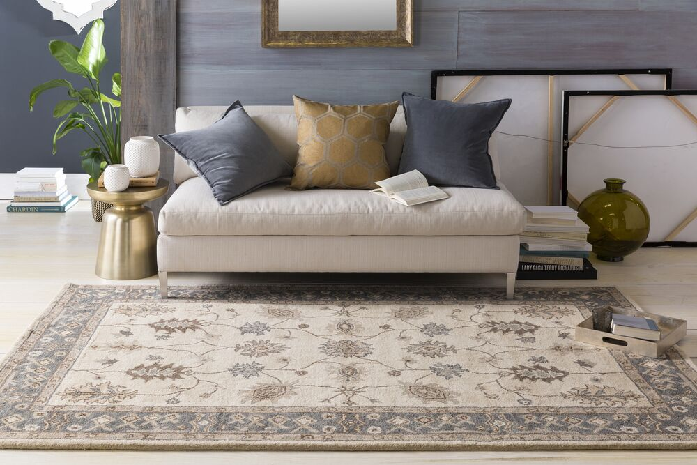 Plemmons Beige Area Rug Rug Size: Rectangle 5' x 8'