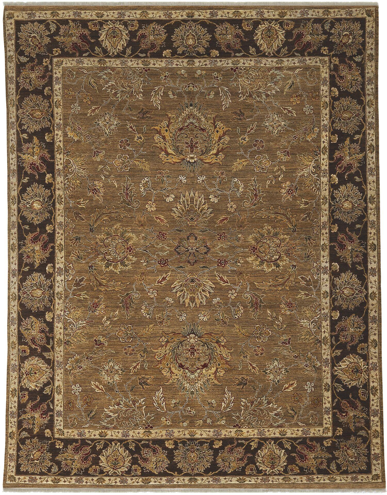 Lidiaídia Oak/Dark Tan Area Rug Rug Size: 12' x 15'