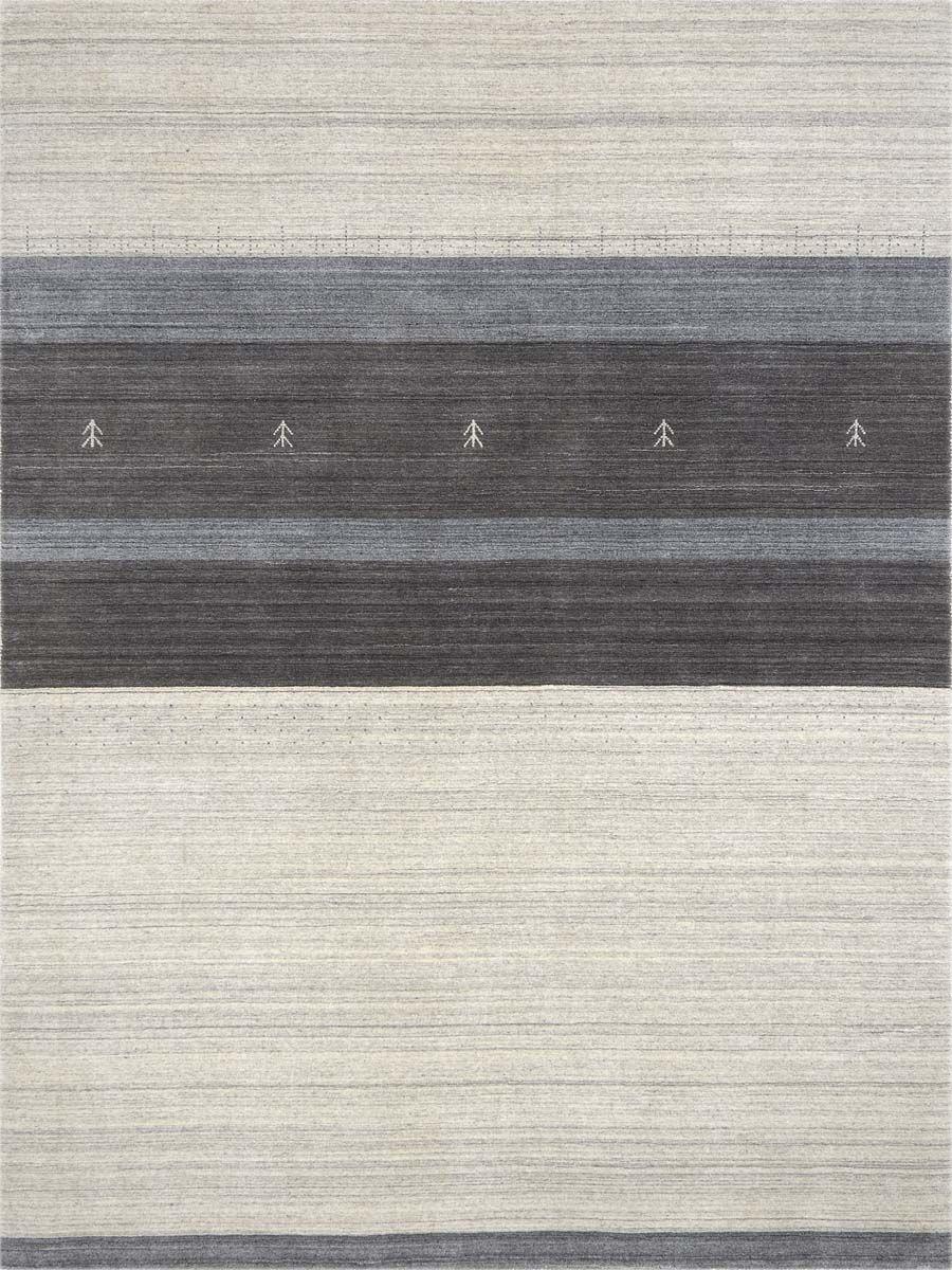 Frandsen Blend Hand Woven Silk Ivory Area Rug Rug Size: 10' x 14'