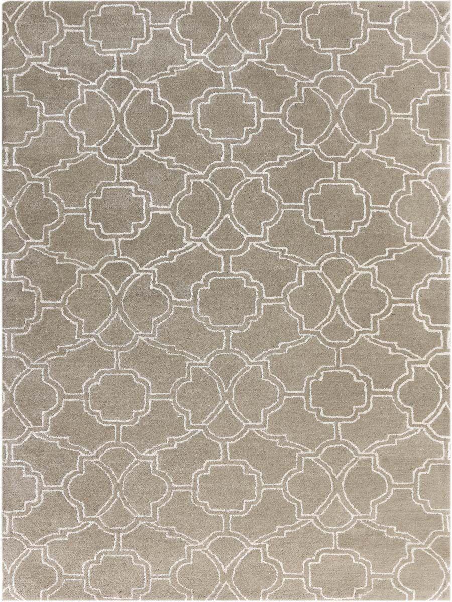 Kamena Hand-Tufted Sand Area Rug Rug Size: Rectangle 7'6