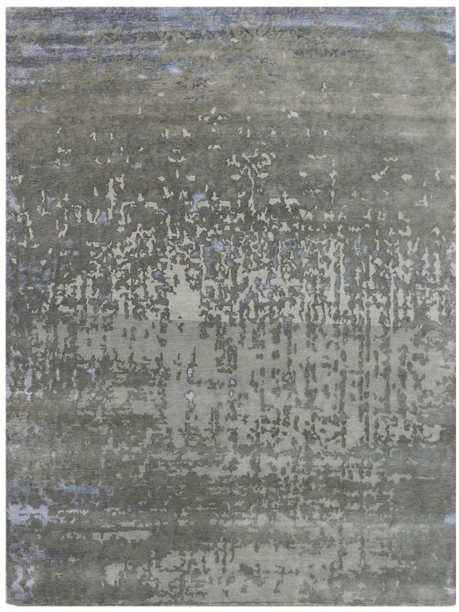 Brettany Hand-Tufted Dove Gray Area Rug Rug Size: Rectangle 2' x 3'