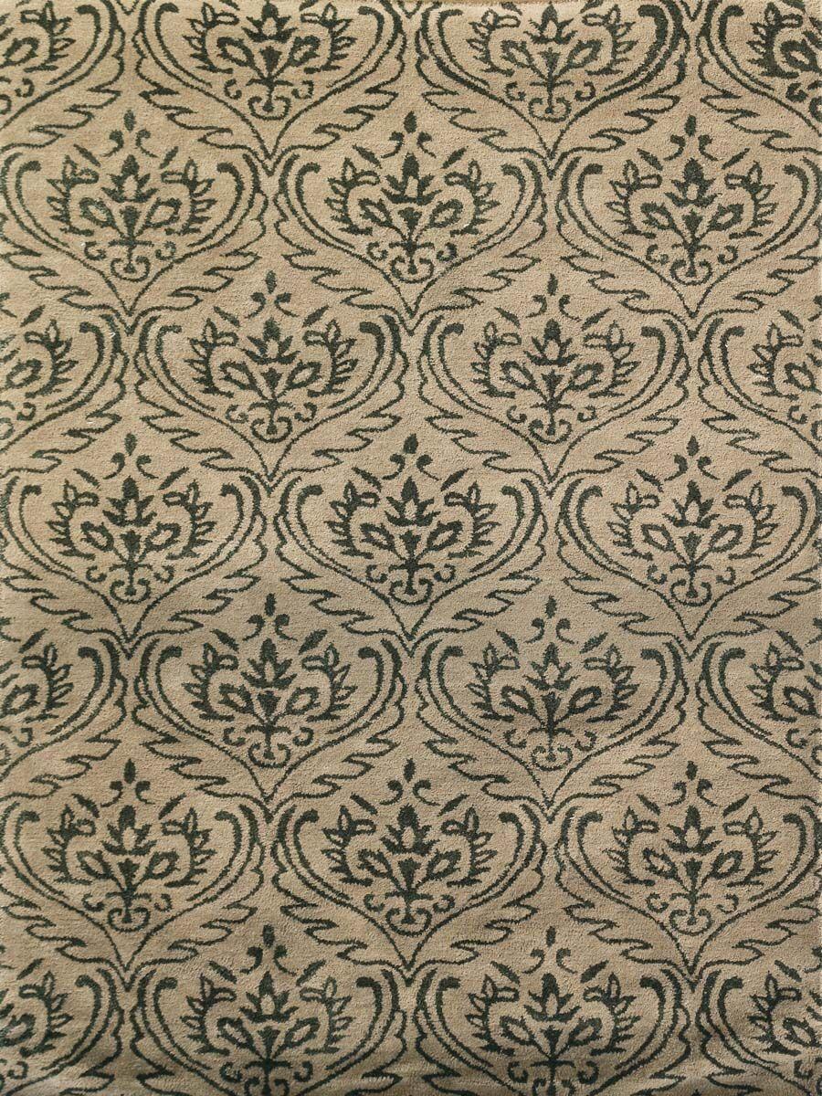 Ismenia Hand-Tufted Sandstone Area Rug Rug Size: Rectangle 7'6