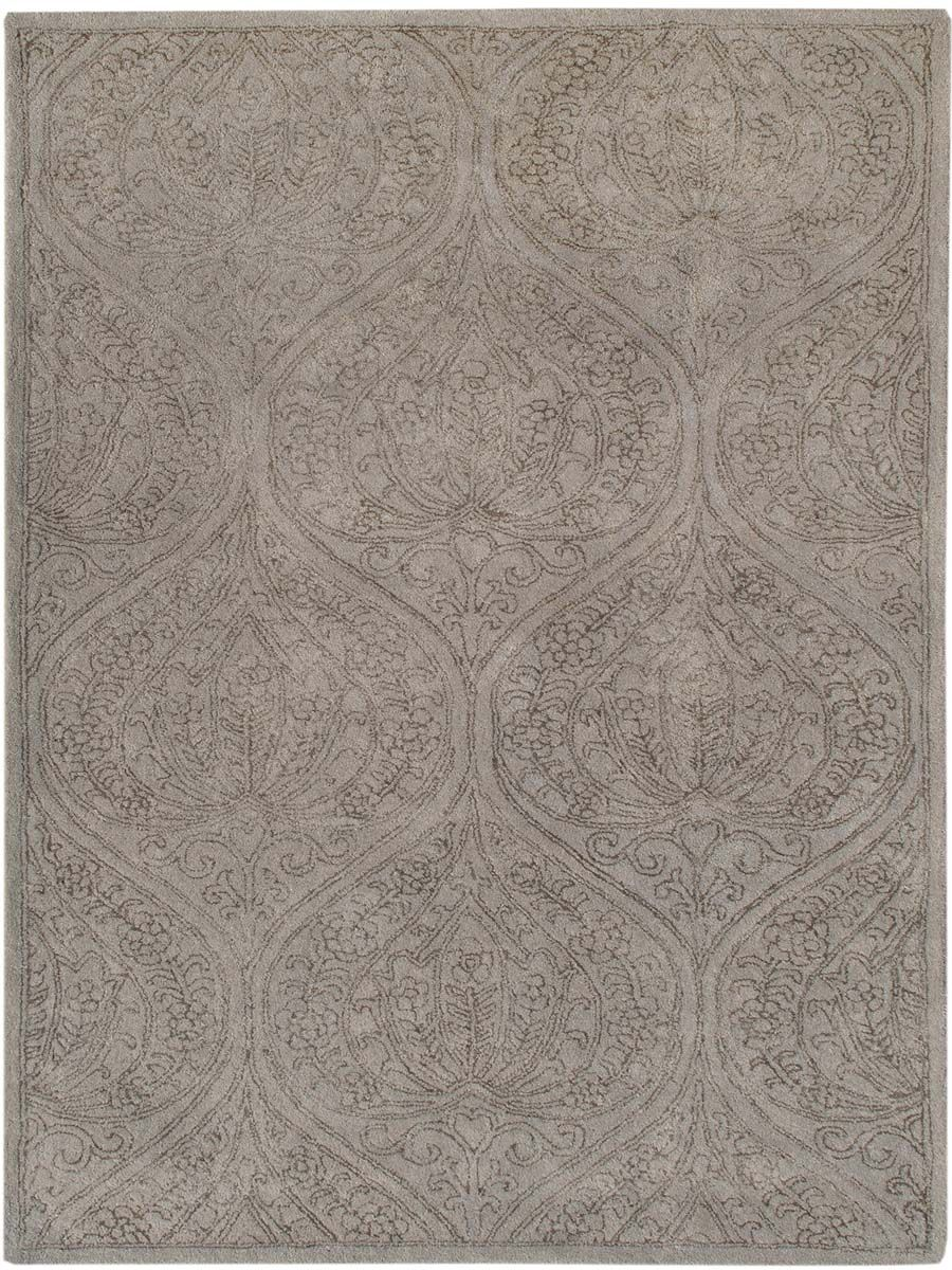 Pigg Hand-Tufted Light Gray Area Rug Rug Size: Rectangle 7'6
