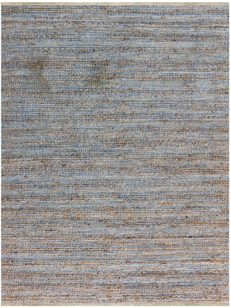 Lantz Flat-Weave Blue Area Rug Rug Size: Rectangle 5' x 8'