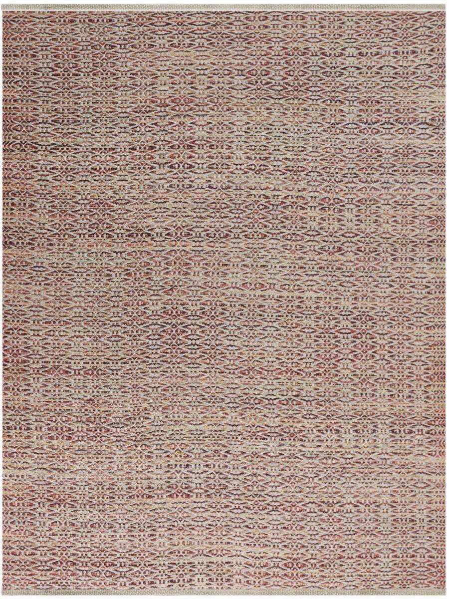 Bertrand Flat-Weave Rust Area Rug Rug Size: Rectangle 5' x 8'