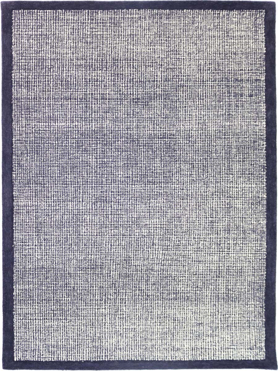Caravelle Hand-Tufted Navy Area Rug Rug Size: Rectangle 8'6
