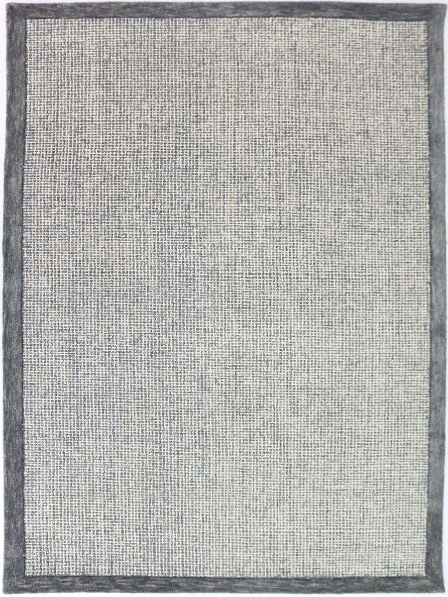 Caravelle Hand-Tufted Slate Area Rug Rug Size: Rectangle 7'6