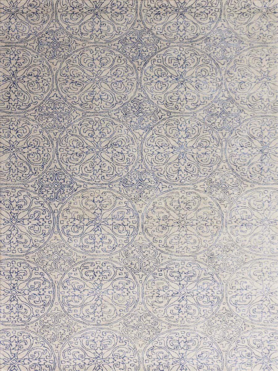 Pigg Hand-Tufted Ink Blue Area Rug Rug Size: Rectangle 7'6