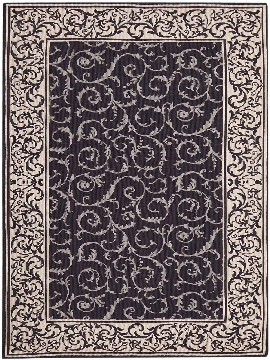 Eberhardt Hand-Tufted Dark Chocolate Area Rug Rug Size: Rectangle 7'6