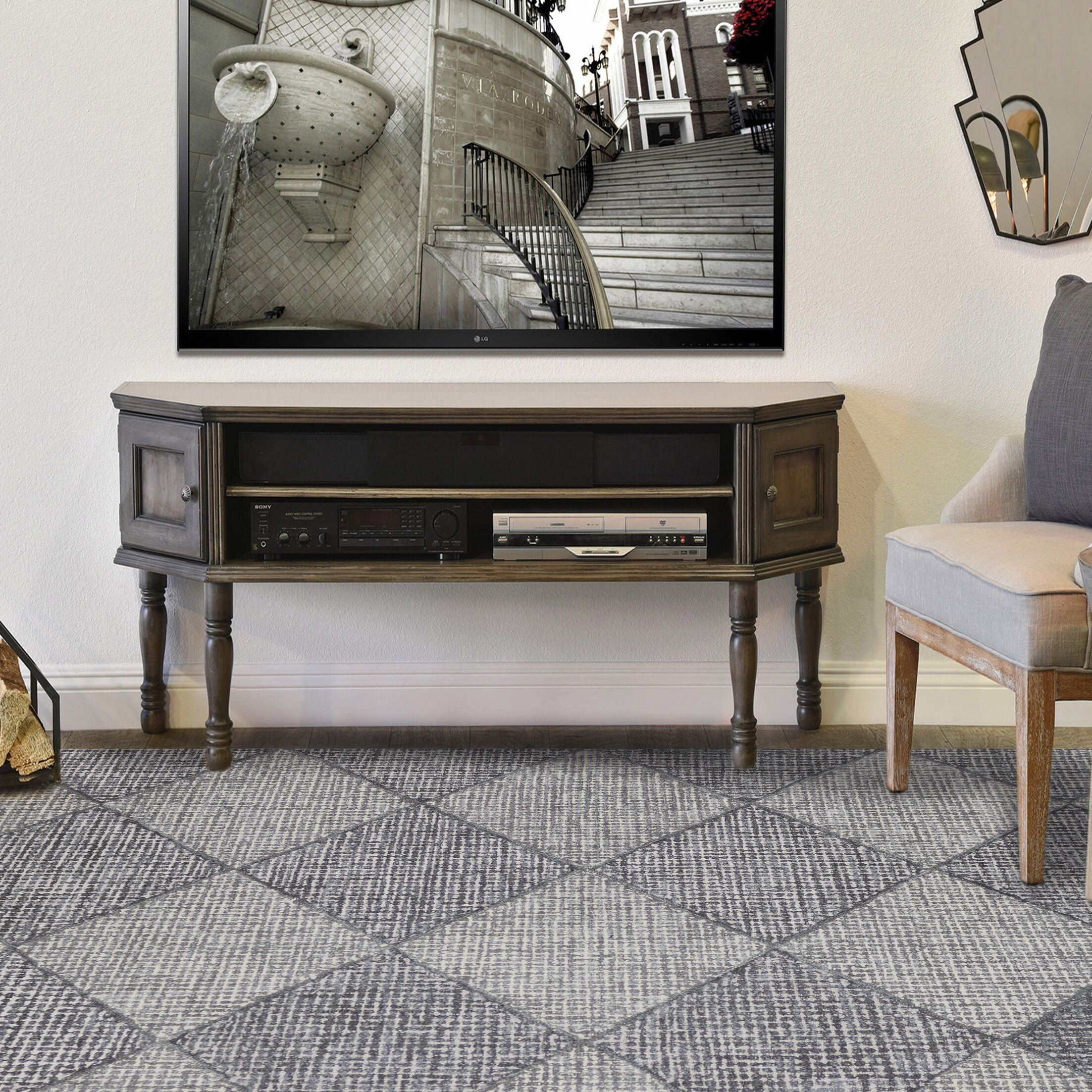 Cargan Neutral Hand-Tufted Gray Area Rug Rug Size: 5' x 8'