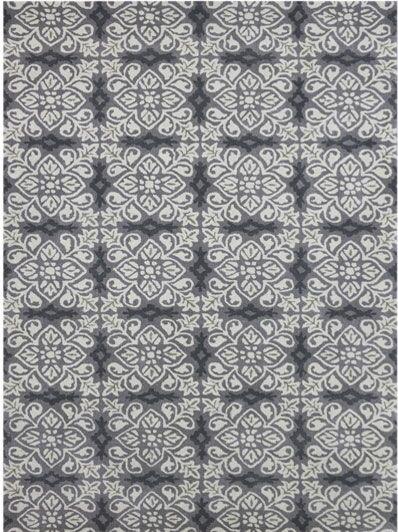 Kaydence Hand-Tufted Silver Area Rug Rug Size: 5' x 8'