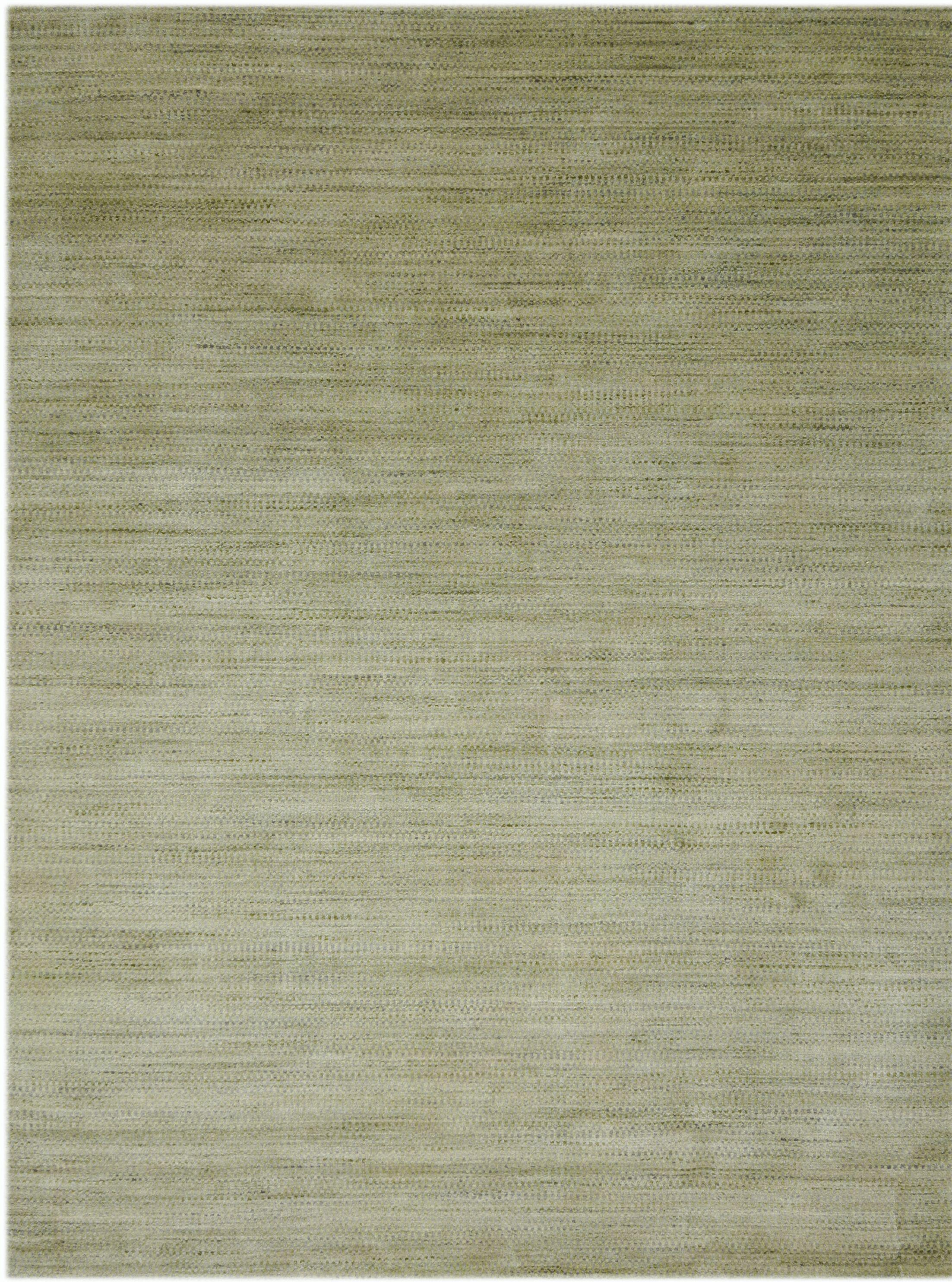 Adamsburg Hand-Woven Green Area Rug Rug Size: Rectangle 3' x 5'