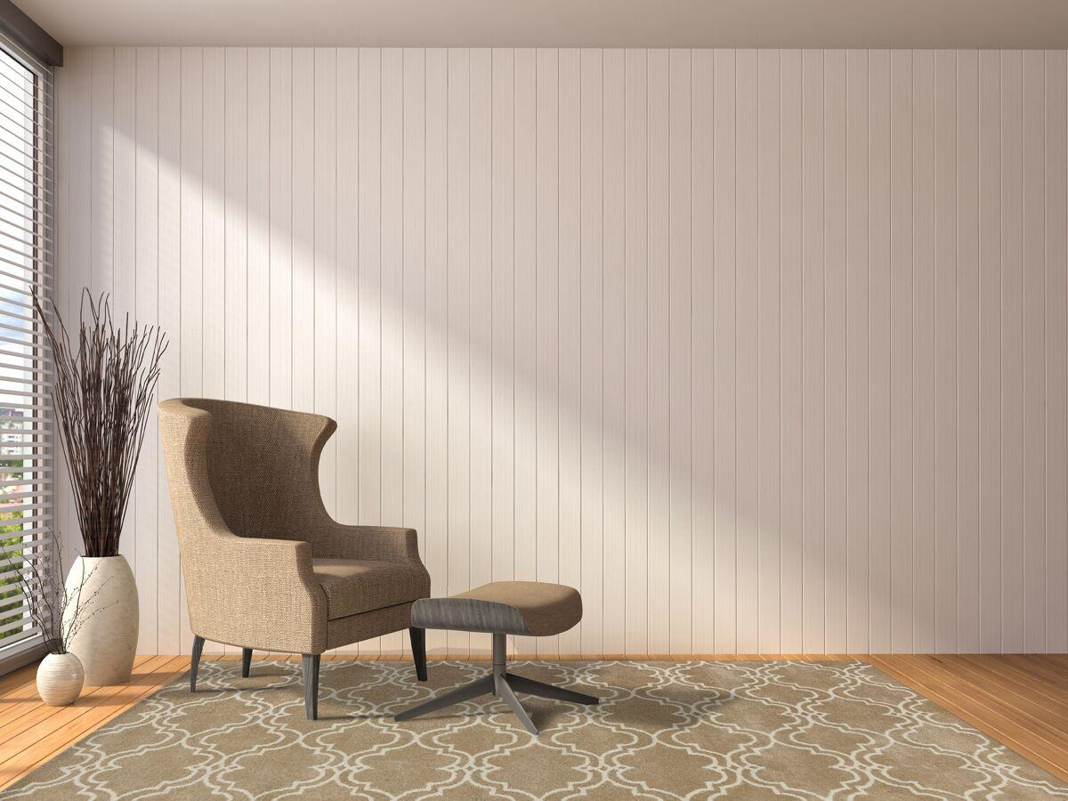 Ladd Trellis Wool Hand-Tufted Mocha Area Rug Rug Size: Rectangle 5' x 8'