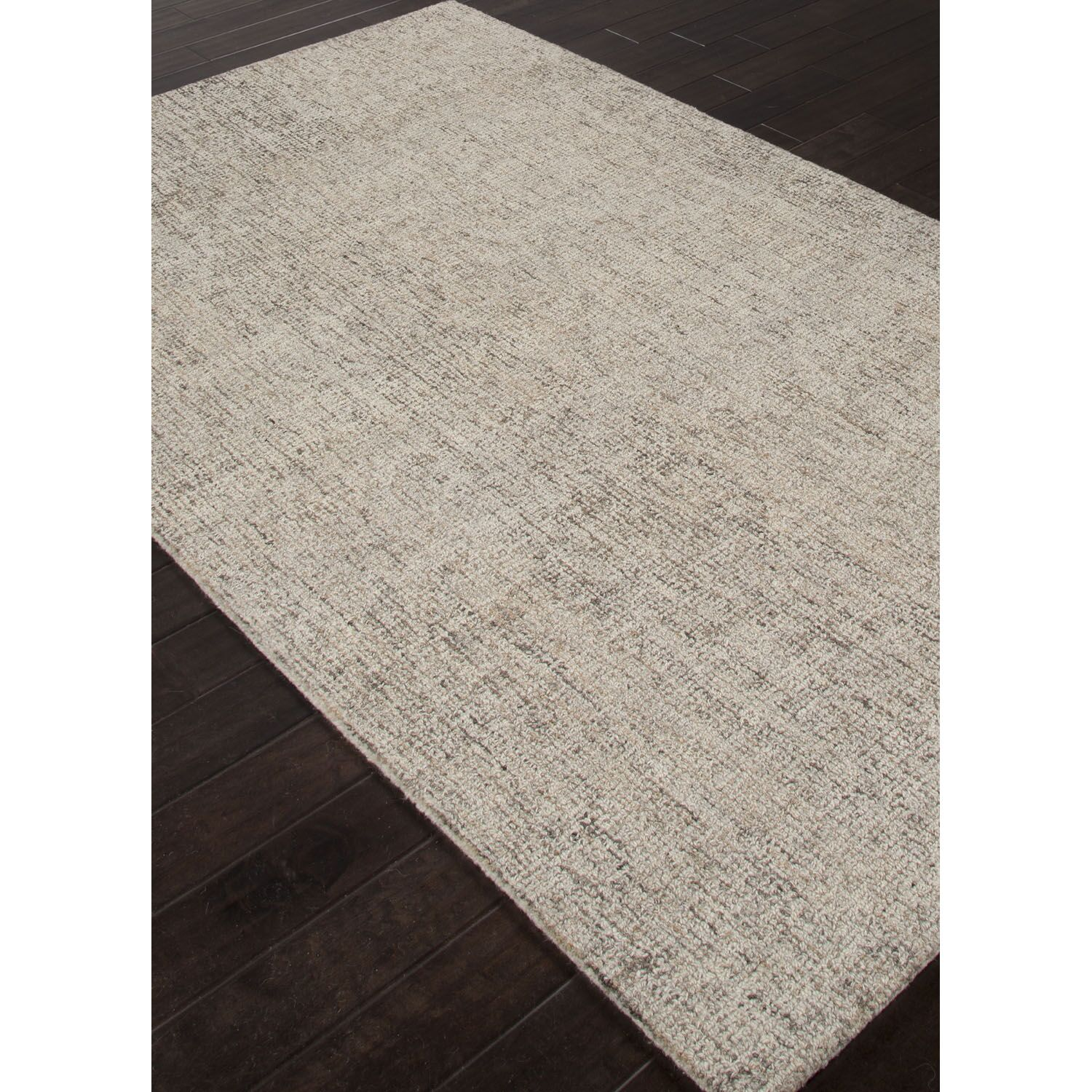 California Bay Hand Tufted Wool Ivory/Gray Area Rug Rug Size: Runner 2'6