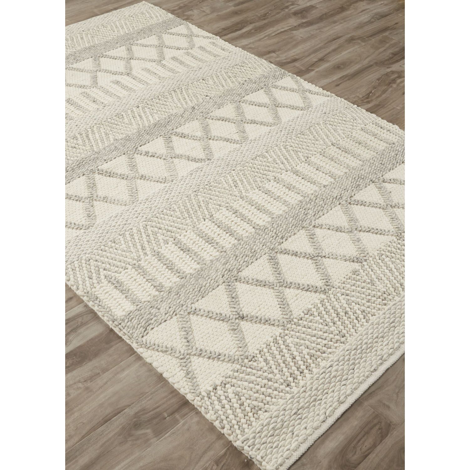 Checotah Ivory/Gray Area Rug Rug Size: Rectangle 8' x 10'