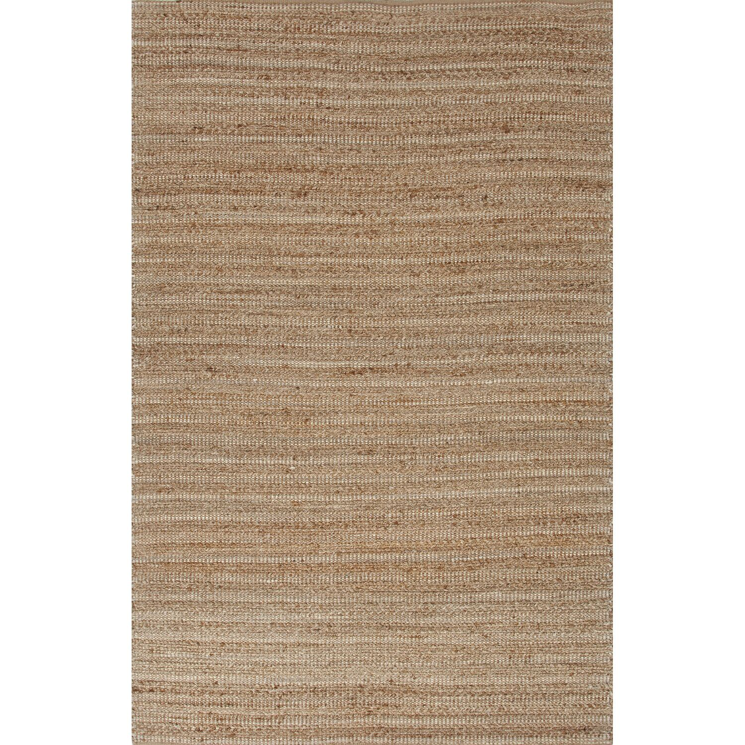 Elmwood Hand-Woven Taupe/Ivory Area Rug Rug Size: Rectangle 9' x 12'