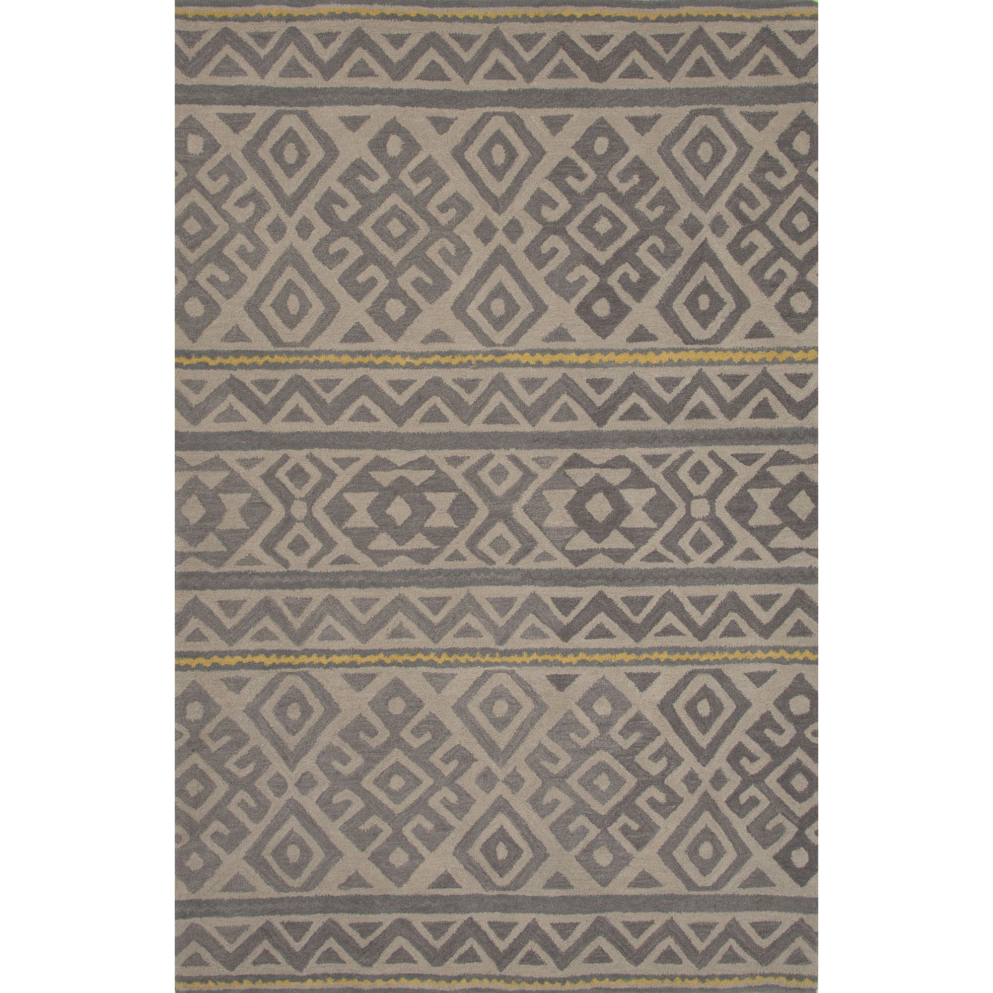 Ferro Hand Tufted Wool Overcast Area Rug Rug Size: 8' x 11'
