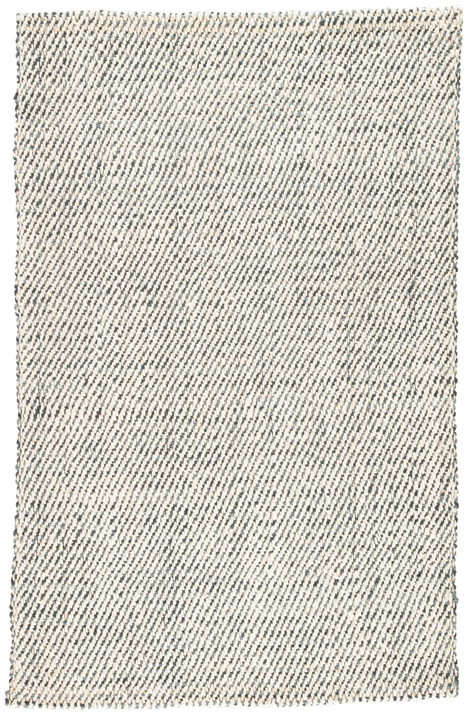 Alcott Hand-Loomed White/Gray Area Rug Rug Size: Rectangle 10' x 14'