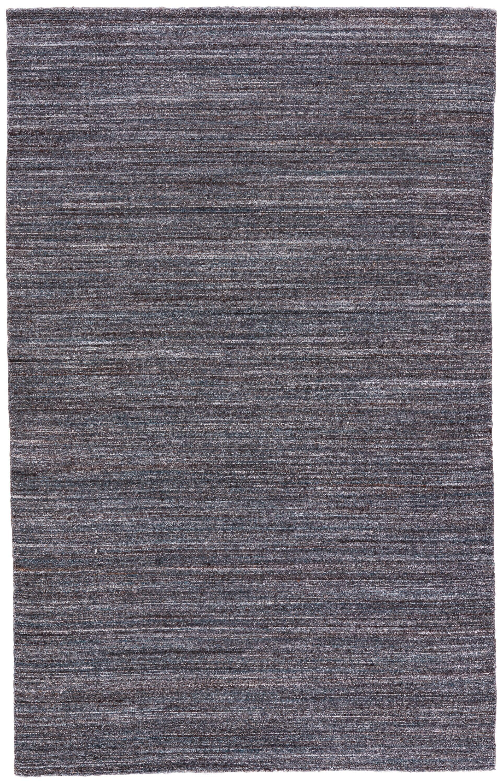 Hadrian Hand-Loomed Wool Dark Gray Area Rug Rug Size: Rectangle 9' x 13'