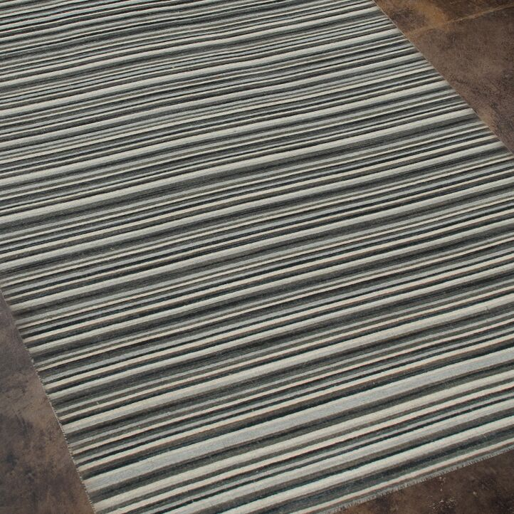 Eilers Ebony Area Rug Rug Size: Rectangle 5' x 8'