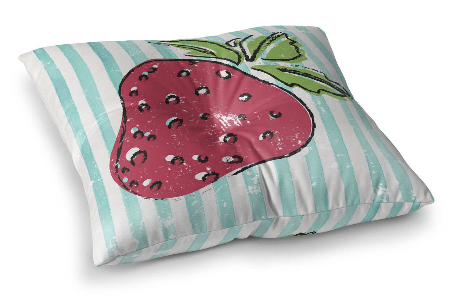 Corsica Strawbooty Outdoor Floor Pillow Size: 26