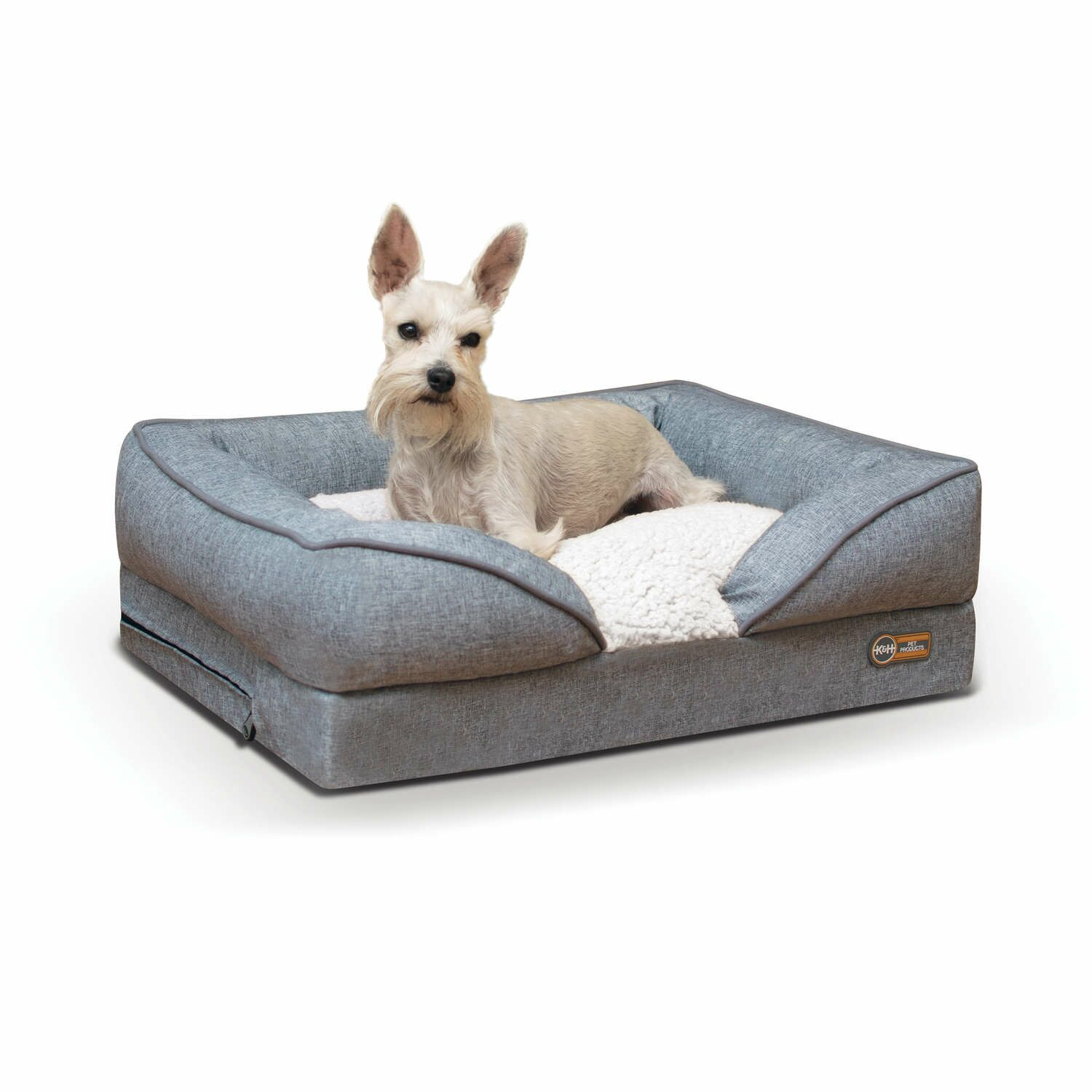 Pet Products Pillow-Top Orthopedic Pet Bolster Size: Large (36