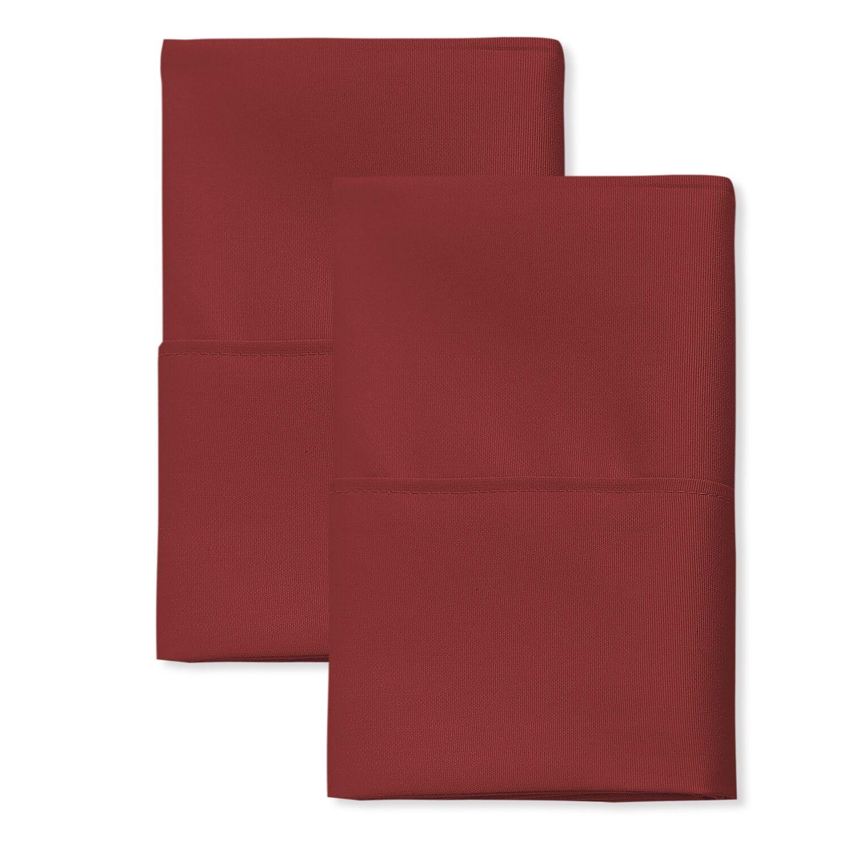 San'T Agnello Hotel Pillowcase Color: Grey, Size: King