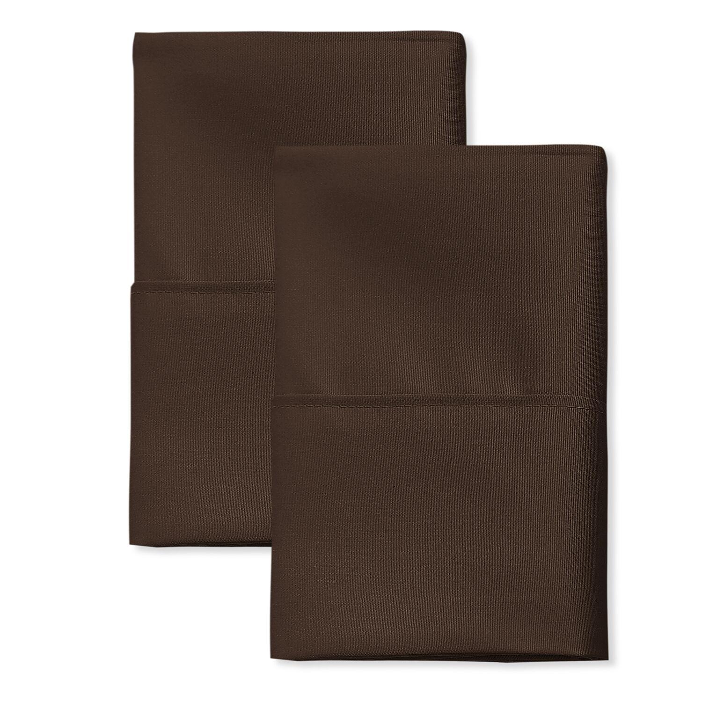 San'T Agnello Hotel Pillowcase Color: Mocha, Size: King