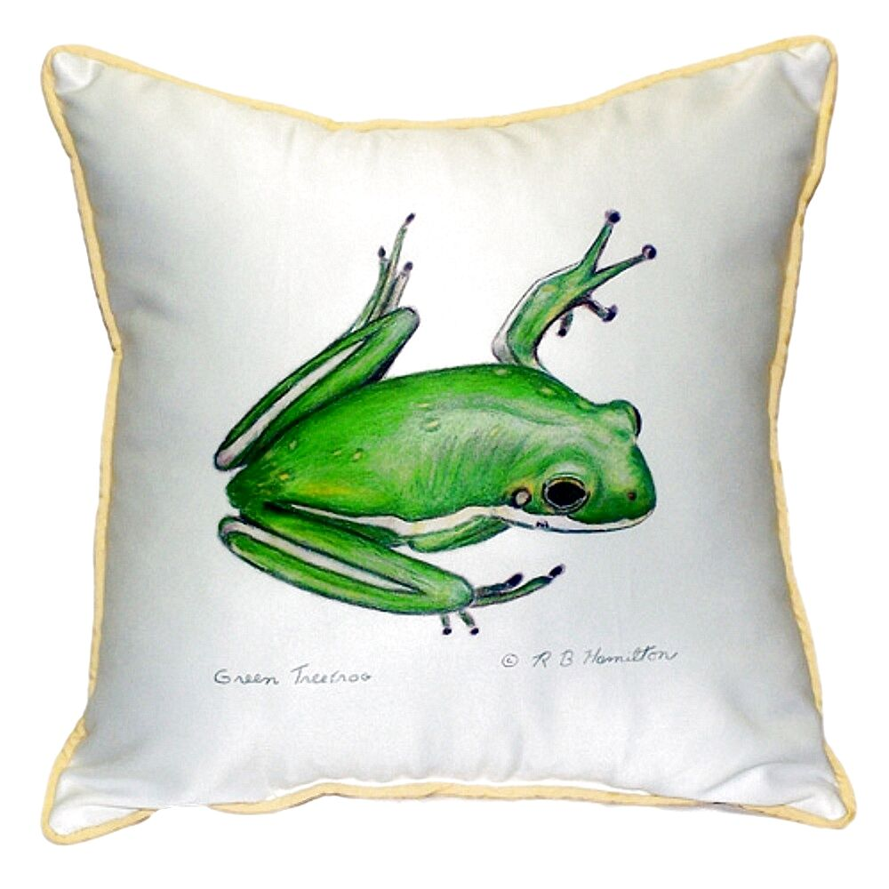 Simonds Tree Frog Indoor/Outdoor Throw Pillow